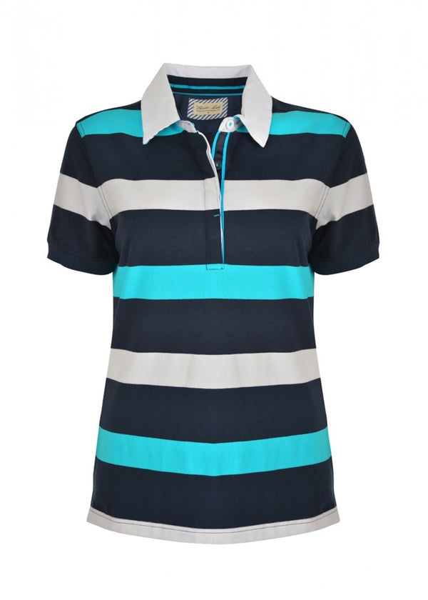 Thomas Cook Womens Myra Stripe Polo