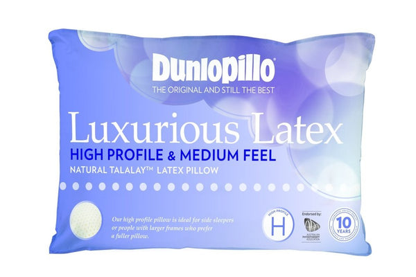 Dunlopillo High Profile & Medium Feel Pillow