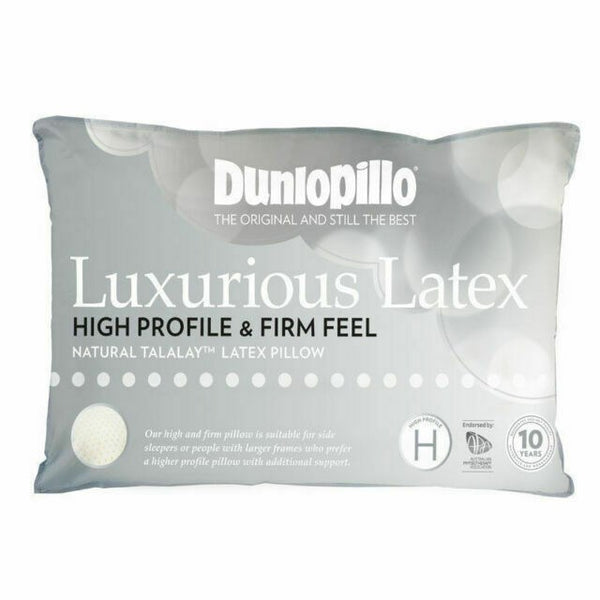Dunlopillo High Profile & Firm Feel Pillow