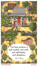 Red Tractor - The Home Gardener - Tea Towel