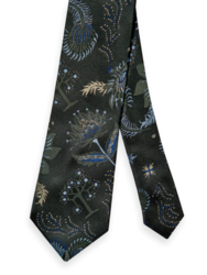 Scotch & Soda Mens Jacquard Patterned Tie
