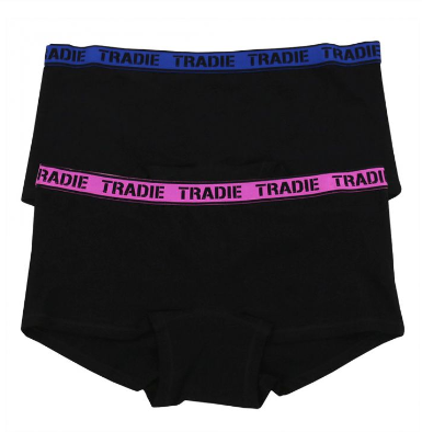Tradie Lady 2 Pack Shortie