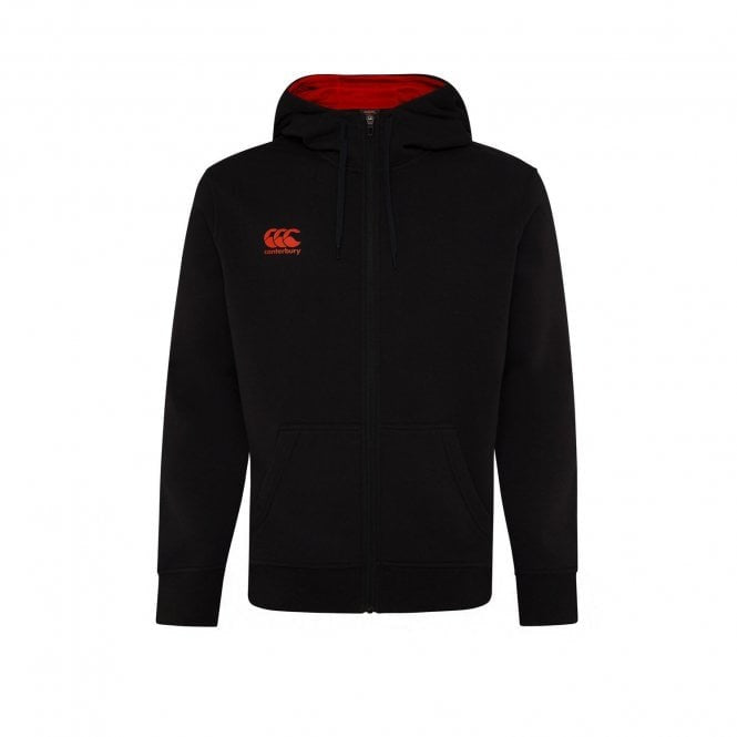 Canterbury Mens Zip Through Fleece Hoody