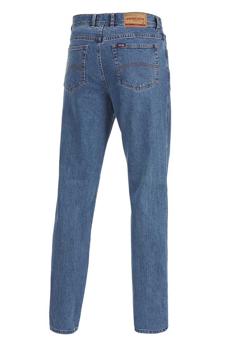 Mustang Regular Stretch Jeans (Stonewash)