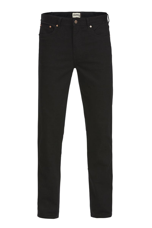 Mustang Regular Stretch Jeans (Black)