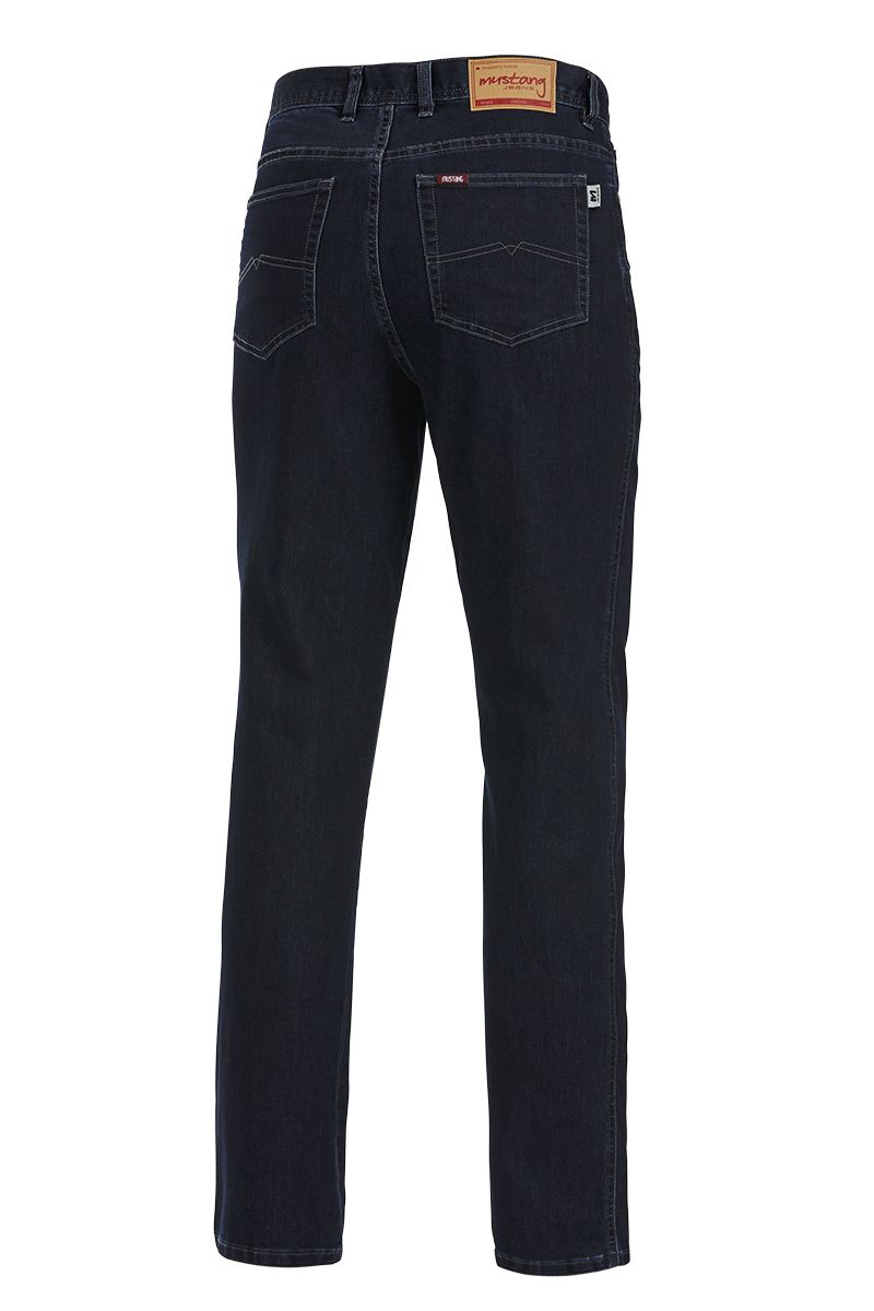 Mustang Regular Stretch Jeans (Blue Black)