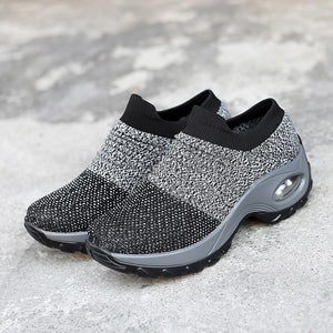 Women's Breathable Air Cushion Leisure Shock Sneakers Shoes