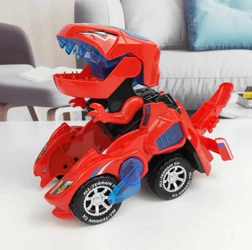 📢Over 2pcs get 12% OFF-Dinosaur LED Toy Car