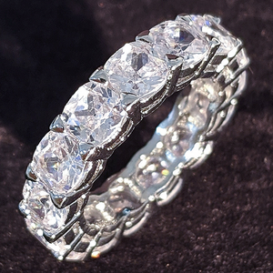 Love eternal luxury 925 Moissan diamond