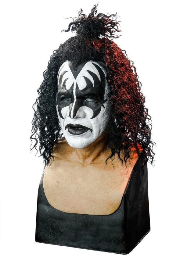 Kiss Deluxe Adult Overhead The Demon Mask