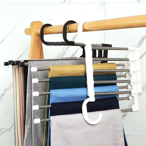 New 5 in 1 Multifunction pants hanger (BUY MORE SAVE MORE)