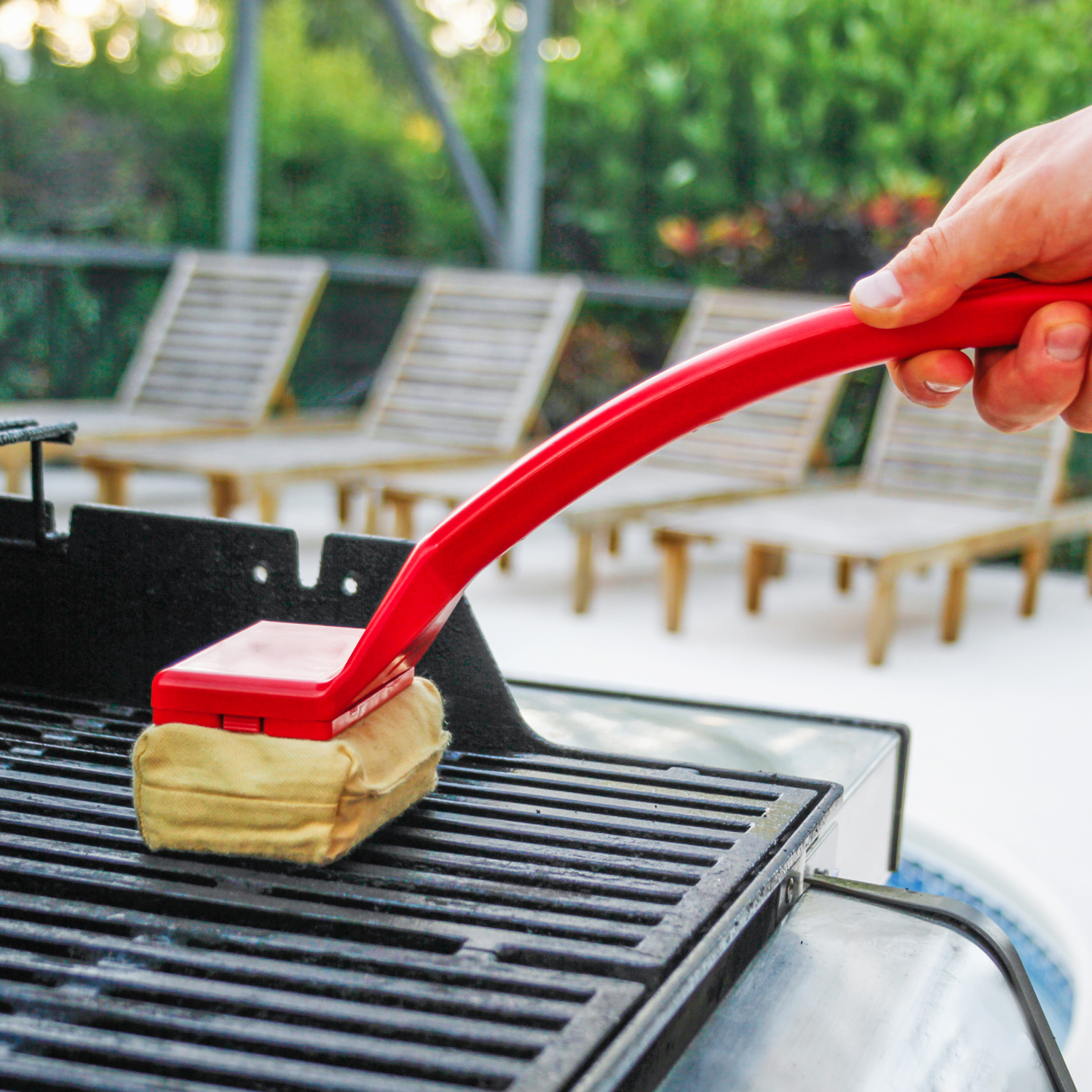 The World's Best Grill Brush