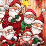 5D DIY DIAMOND PAINTING SANTA CLAUS / DIAMOND PAINTING MNL
