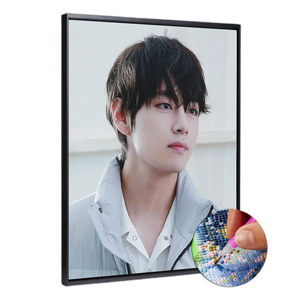 BTS V (High Quality Diamond Painting Kit)