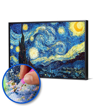 Starry Night 5D Full Drill Diamond Painting (Best-seller)