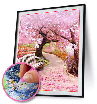 DIY Full Drill Diamond Painting Peach Tree - Best-seller / Diamond Painting MNL