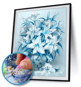 5D DIY Full Drill Diamond Painting Lily Flower / Diamond Painting MNL