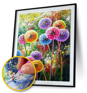 Dandelion Full Drill 5D DIY Diamond Painting / Diamond Painting MNL