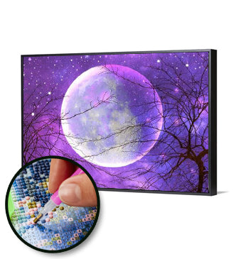Moon Design (Full Drill DIY Diamond Painting