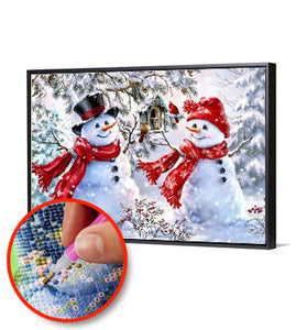 5D DIY FULL DRILL DIAMOND PAINTING Snowman 2 / DIAMOND PAINTING MNL