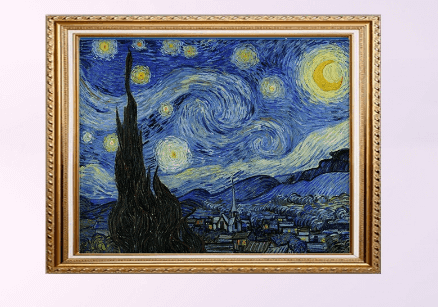 Starry Night 5D Full Drill Diamond Painting (60x50) Best-seller