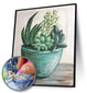 Succulent Plant (Full Drill Diamond Painting Kit