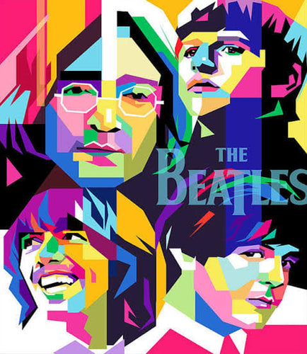 DIY Diamond Painting MNL's BEST SELECTION design - Full Drill / The Beatles