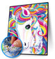 Full Drill Unicorn Design ( High Quality Diamond Painting Kit)
