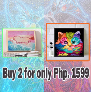 Love Beach 5D DIY Full Drill Square Diamond Painting / Diamond Painting MNL