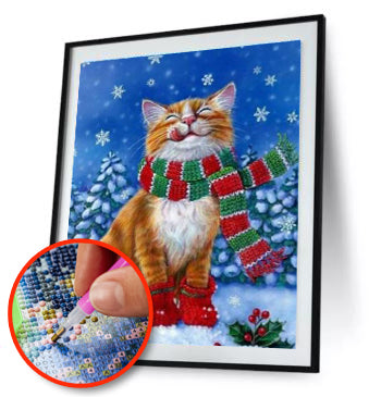 Christmas Cat Design