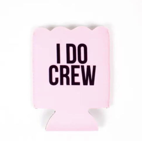 I Do Crew - Scallop Koozie