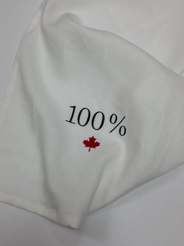 100% Canadian Linen Tea Towel