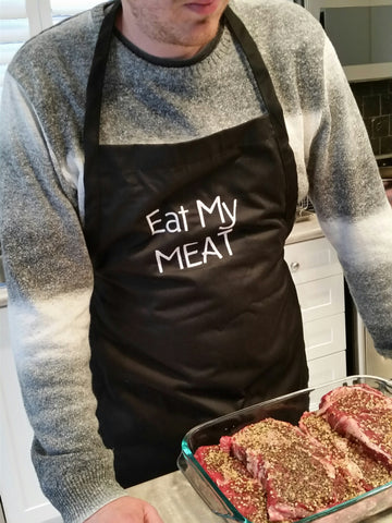 Eat My Meat Apron