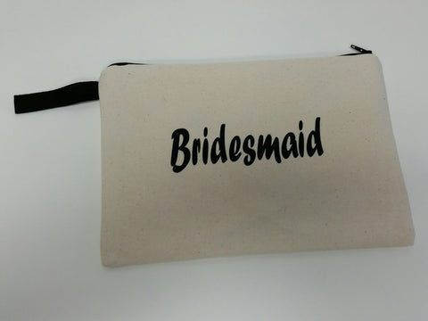 Bridesmaid Toiletry Bag