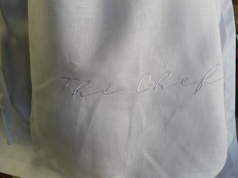 The Chef Linen Tea Towel