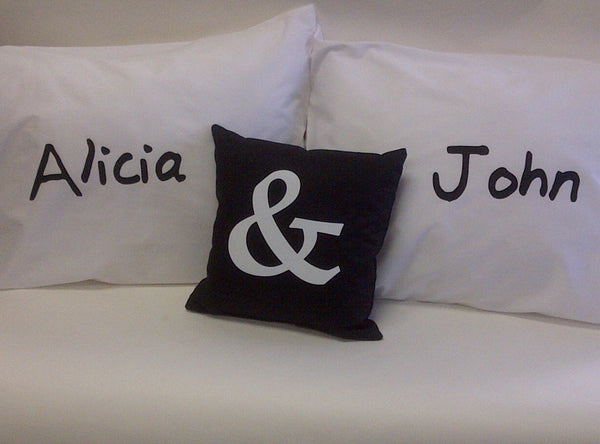 Customized Name Pillowcase Set