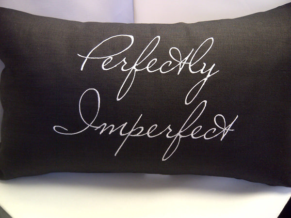 Perfectly Imperfect Linen Pillow