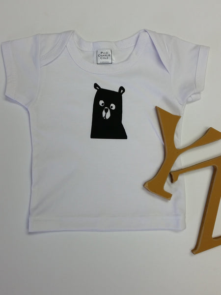 Brown Bear Baby Tee