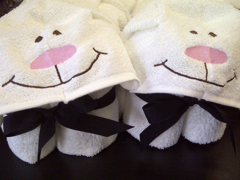 Bunny Hooded Towel