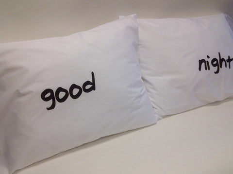 Good Night Pillowcase Set