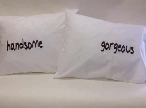 Handsome & Gorgeous Pillowcase Set