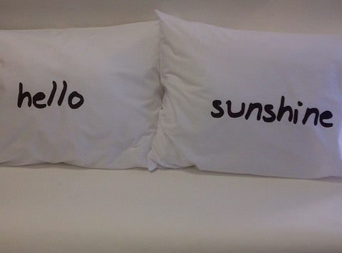 Hello Sunshine Pillowcase Set