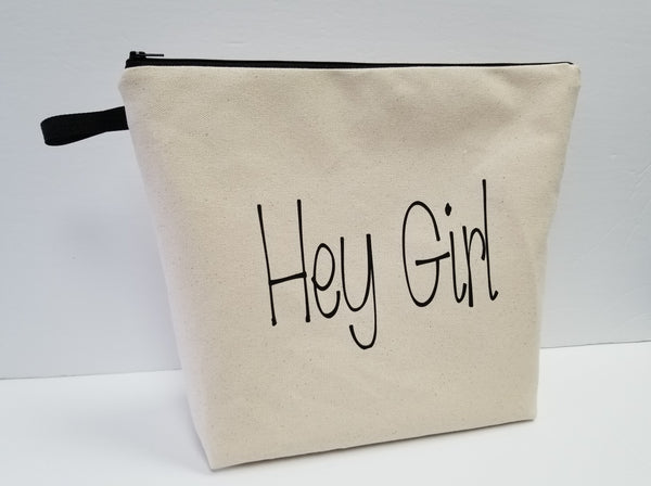 Hey Girl Large Pouch Toiletry Bag
