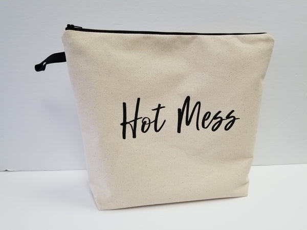 Hot Mess Large Pouch Toiletry Bag