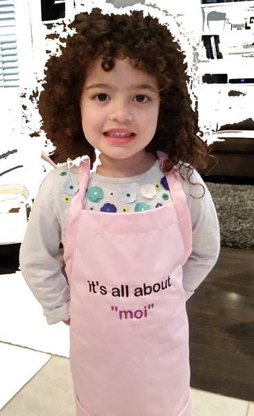 It's all about Moi  Kid Apron