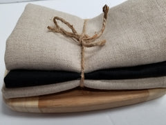 Linen Wash Cloth Set/3