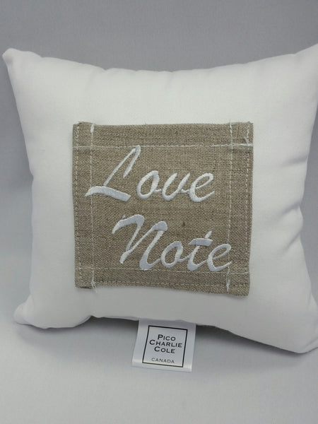 Love Note Pocket Pillow