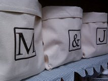 Organic Storage Bag with Monogram