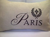 Paris LinenPillow