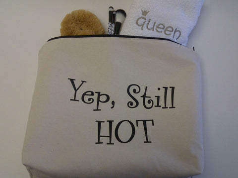 Yep, Still HOT Large Pouch Toiletry Bag